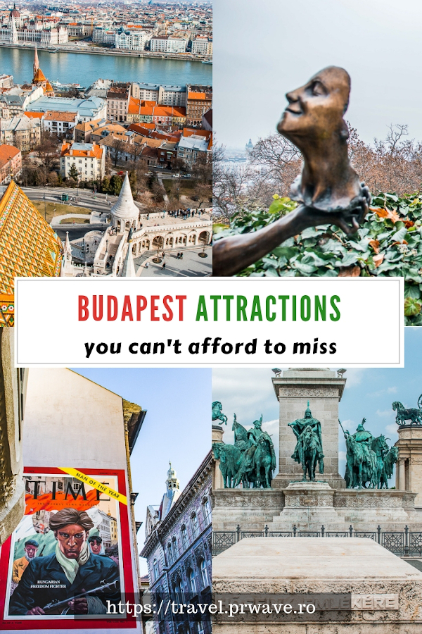 Budapest attractions you must see. The best things to do in Budapest, Hungary and useful Budapest travel tips. #budapest #hungary #traveltips #budapesttips #europe #travel