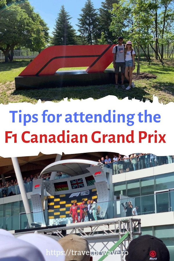 Tips for Attending the Canadian Grand Prix - Formula 1 Race at The Circuit Gilles Villeneuve. #montreal #formula1 #f1 #f1canada #f1montreal