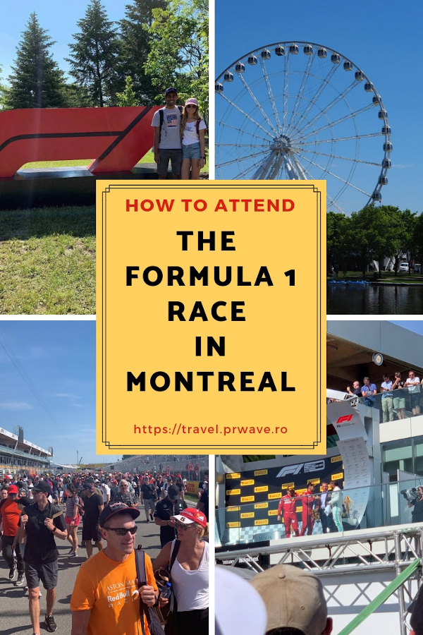 How to attend the Formula 1 Race in Montreal, Canada - the Canadian Grand Prix. #montreal #formula1 #f1 #f1canada #f1montreal