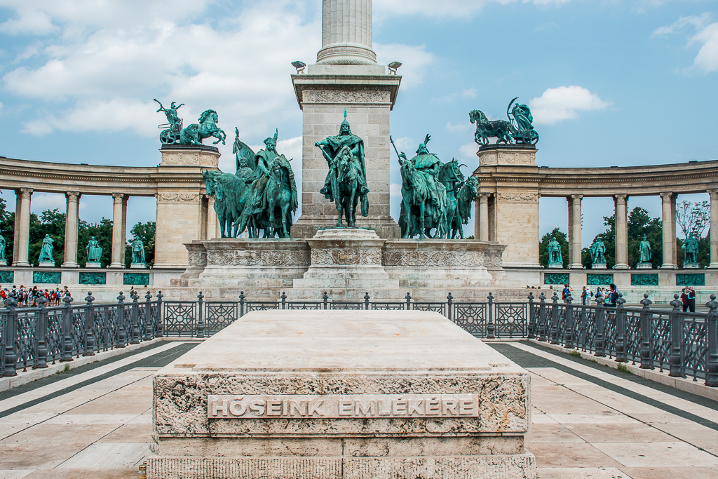 Heroes' Square, Budapest. Here are the top places to visit in Budapest and useful tips for your Budapest trip.