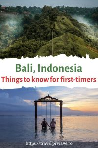 Bali for first-timers: useful things to know before visiting Bali, Indonesia from where to stay, what to pack for Bali, culture in Bali, Bali transportation, and more. #bali #asia #travel #indonesia #traveltips #balitravel