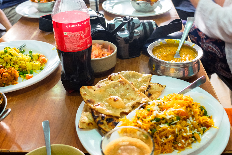Indian food in Delhi. India travel tips to help you have a great visit here!