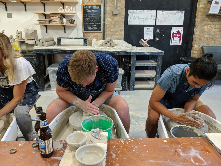 Penguin Foot - BYOB Pottery. Discover 15 great things to do in Chicago today!
