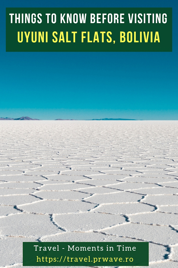 Things to know before visiting Uyuni Salt Flats, Bolivia. Tips for visiting Salar de Uyuni, Bolivia #bolivia #southamerica #uyuni #uyunisaltflats #salardeuyuni