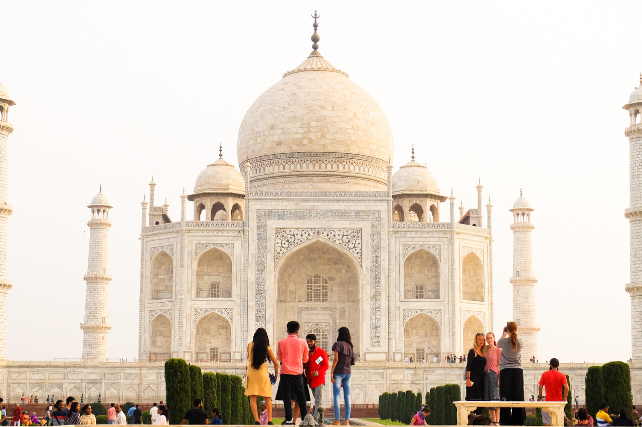 Taj Mahal. 8 Practical India travel tips that will save you time and money