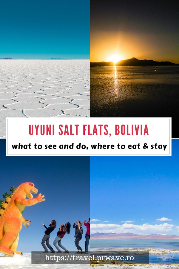 Uyuni Salt Flats guide. What to do in Uyuni, where to stay in Uyuni, what to pack for Uyuni Salt Flats, Bolivia and more Uyuni tips. #bolivia #southamerica #uyuni #uyunisaltflats #salardeuyuni