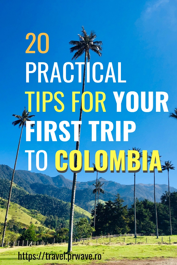 20 Practical tips for your first trip to Colombia: all you need to know before your Colombia holiday #colombia #travel #traveltips
