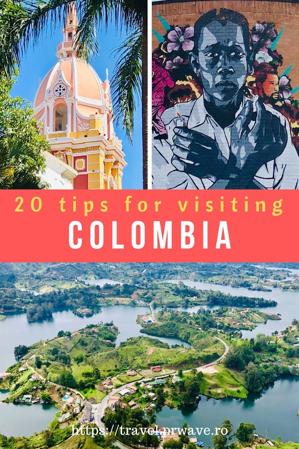 20 Tips for visiting Colombia - the only Colombia travel guide you'll need to read to find out Colombia tours ideas, tipping in Colombia, food, and the answer to the questions: Is Colombia safe. Read the article now! #colombia #travel #traveltips