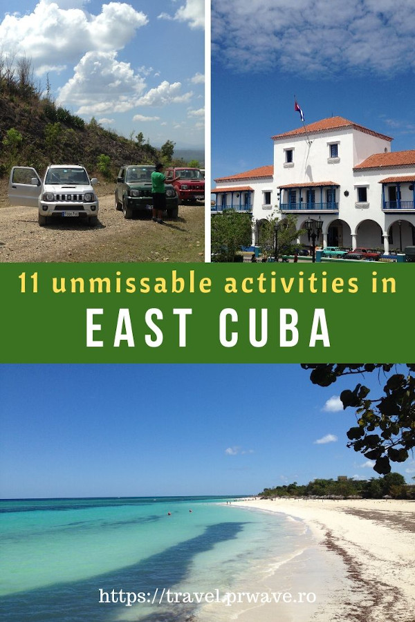 11 Unmissable things to do in East Cuba - discover the best Cuba activities to enjoy on your Cuba trip. #cuba #cubatips #eastcuba #cubathingstodo