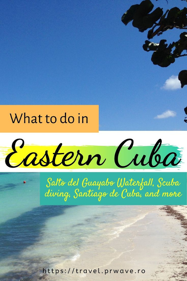 What to do in Eastern Cuba - from Salto del Guayabo Waterfall and Biran, to a jeep safari, scuba diving, visiting Santiago de Cuba, and many more Cuba activities to include on your Cuba itinerary! #cuba #cubatips #eastcuba #cubathingstodo