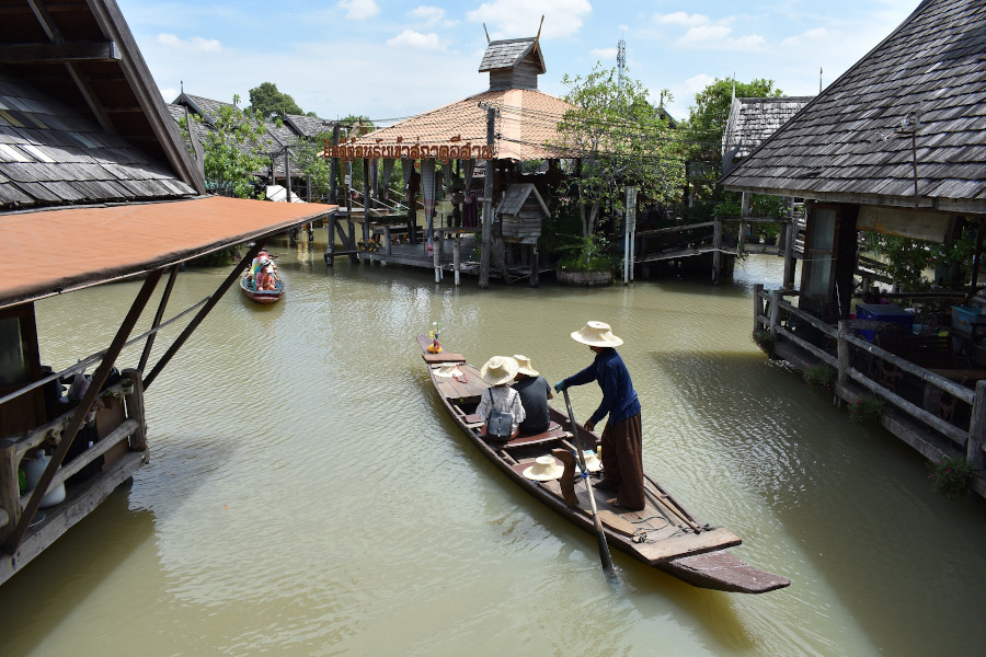 The Pattaya floating market. Here are the top attractions in Pattaya, Thailand