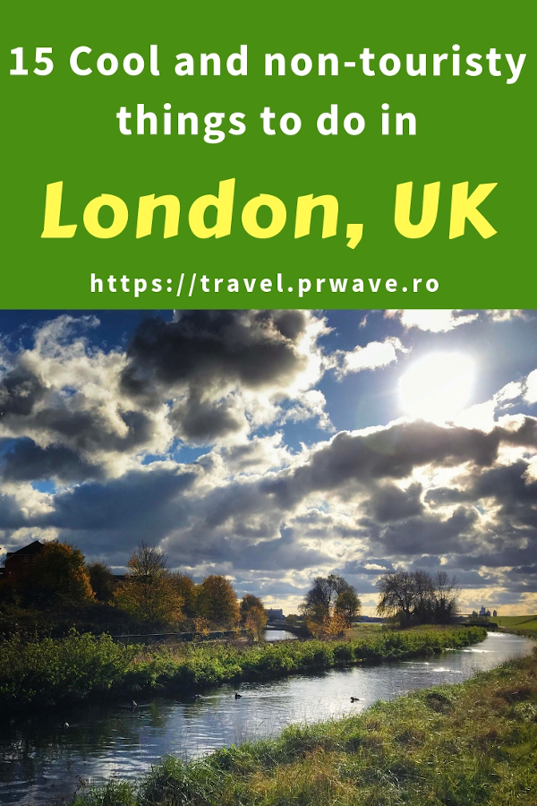 15 Cool and Non-touristy things to do in London, UK. Discover what to do in London beyond the famous attractions from this list of unusual things to do in London. Add these quirky London attractions to your London bucketlist and to your London itinerary. #london #uk #england #europe #travel