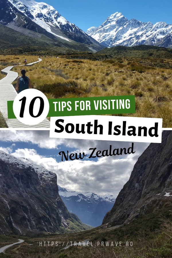 Tips for Visiting South Island, New Zealand. Read the article to discover how to get around South Island, NZ, South Island, New Zealand must-see places, and many more South Island tips. #southisland #newzealand #nz #traveltips #nztips #travel