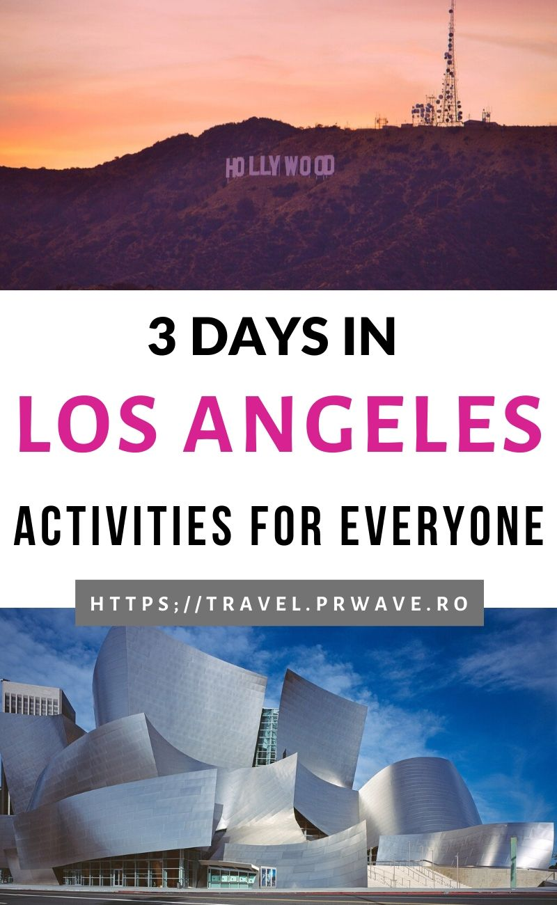 3 days in Los Angeles - this is the ultimate guide to visiting Los Angeles in 3 days. You'll discover personalized recommendations on 72 hours in Los Angeles for art lovers, 3 days in Los Angeles for foodies, Los Angeles in 3 days for entertainment lovers, Los Angeles in 3 days for nature enthusiasts, 72 hours in Los Angeles for sightseeing. The best things to do in Los Angeles in 3 days are included. Decide what you want to visit in 3 days in LA. Read the article now. #losangeles #la #usa #laitinerary #itinerary #usatravel #usaitinerary