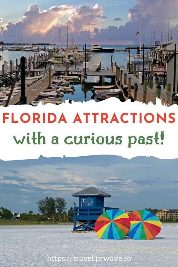 7 Incredible Florida attractions with a curious past! These are the best places to visit in Florida, USA with a dark past. Discover these Florida attractions with secrets now and add them to your USA bucketlist! #usa #usatravel #florida #floridaattractions #floridathingstodo #travelmomentsintime