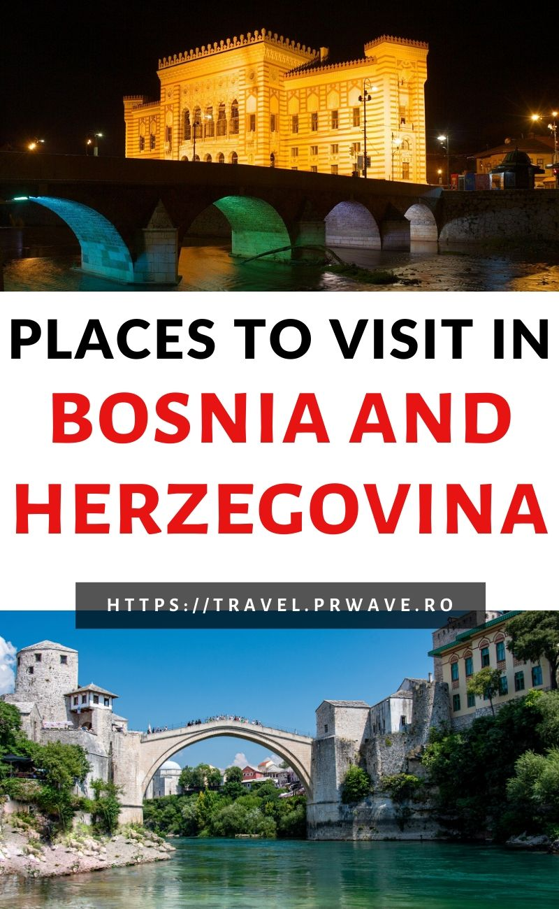 Amazing places to visit in Bosnia and Herzegovina. Use this Bosnia and Herzegovina travel guide for first timers and discover the top things to do in Sarajevo, Konjic things to do, learn about the Japodian Islands, the best things to do in Mostar, and many other tourist destinations in Bosnia and Herzegovina. This is best of Bosnia and Herzegovina: what to see and do if you want to have the berfect Bosnia and Herzegovina trip, and create an itinerary for Bosnia and Herzegovina that includes both famous things to see, as well as off the beaten path places to visit in Bosnia and Herzegovina. #bosnia #herzegovina #europe #travel #bosniaandherzegovina