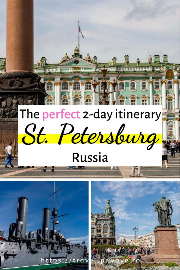 Use this 2-day St Petersburg itinerary when planning your visit to St. Petersburg and discover where to go and what to do: from the best museums to the best viewpoints, from the stunning churches to the landmarks in St. Petersburg, everything is included. Find out how to spend 2 days in Saint Petersburg. #stpetersburg #russia #travelitinerary #sanktpetersburg #travelguide #saintpetersburg
