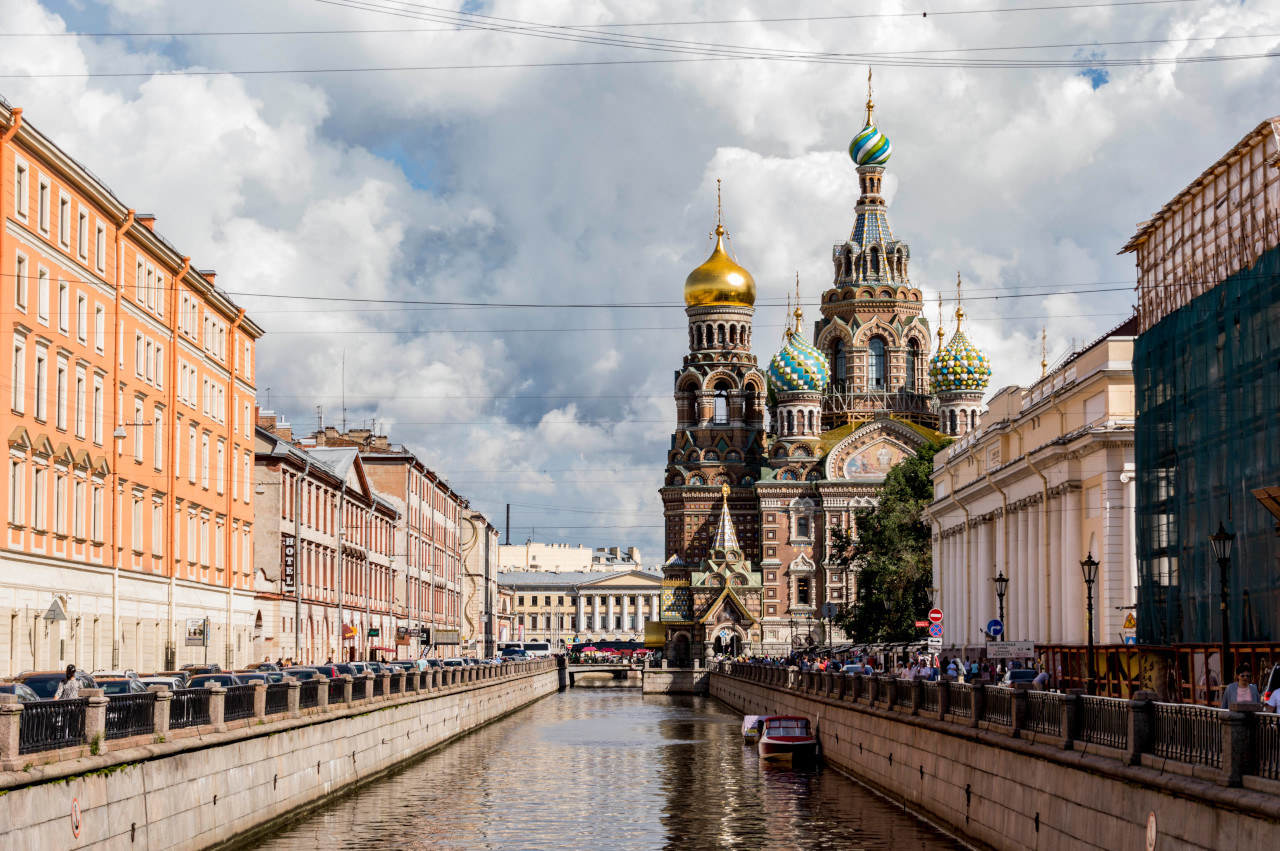 Church of Savior on Blood, St. Petersburg, Russia. Discover what to do in St. Petersburg in 2 days from this article.