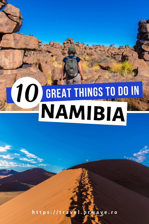 10 Fantastic things to do in Namibia - your ultimate Namibia bucket list. Discover the best places to visit in Namibia and what to do in Namibia from this article. Read it now! #namibia #africa #bucketlist