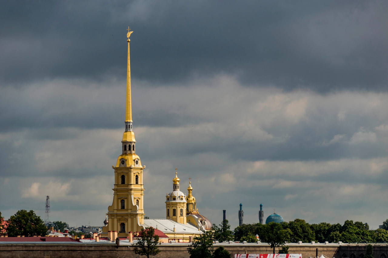 Peter and Paul Fortress, Saint Petersburg. The 2-day itinerary for St. Petersburg, Russia with the best places to visit in St. Petersburg on a short trip