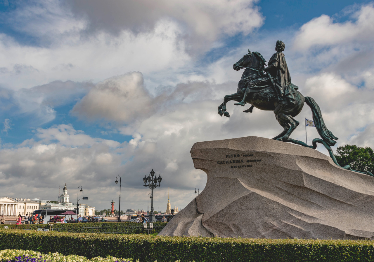 The Bronze Horseman, St. Petersburg, Russia. Planning a trip to St Petersburg? Here are the best places to visit in St. Petersburg