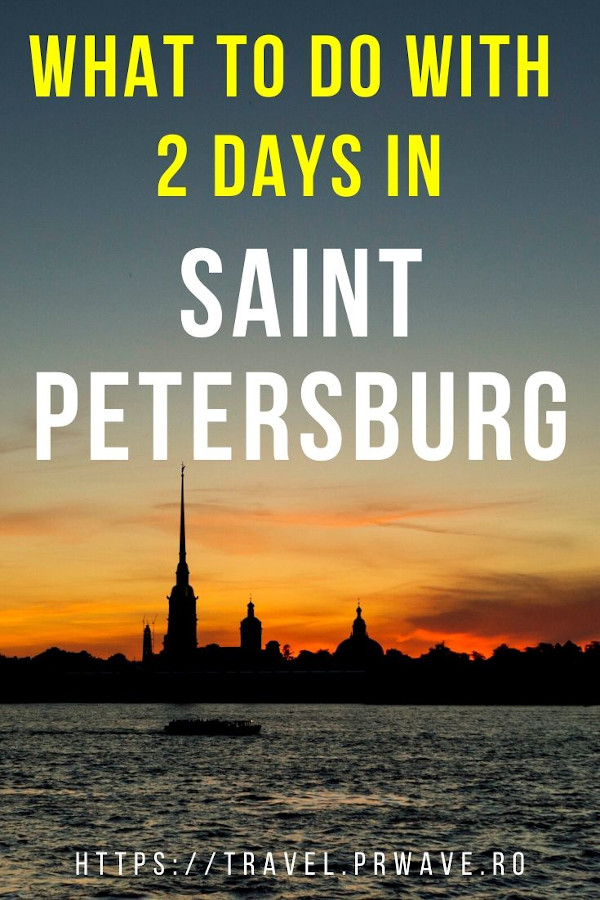 What to do with 2 days in Saint Petersburg, Russia. Discover the popular tourist attractions in Saint Petersburg - Church of Savior on Blood, Peter and Paul Fortress, Aurora, Hermitage museum, Kazan Cathedral, and many more. This 2-day itinerary for Saint Petersburg is all you need to pan the perfect St. Petersburg vacation. #stpetersburg #russia #travelitinerary #sanktpetersburg #travelguide #saintpetersburg