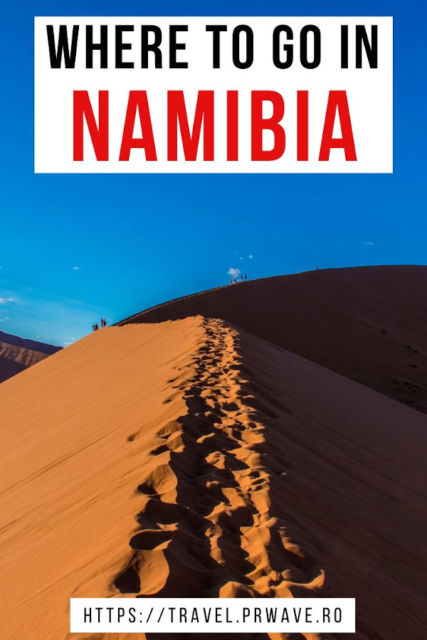 Where to go in Namibia, Africa. Discover the 10 best places to visit in Namibia and the most interesting things to do in Namibia - Dune 45, Etosha National Park, Deadvlei, Sossusvlei, and many more! Plan your Namibia trip with this article! #namibia #africa #bucketlist