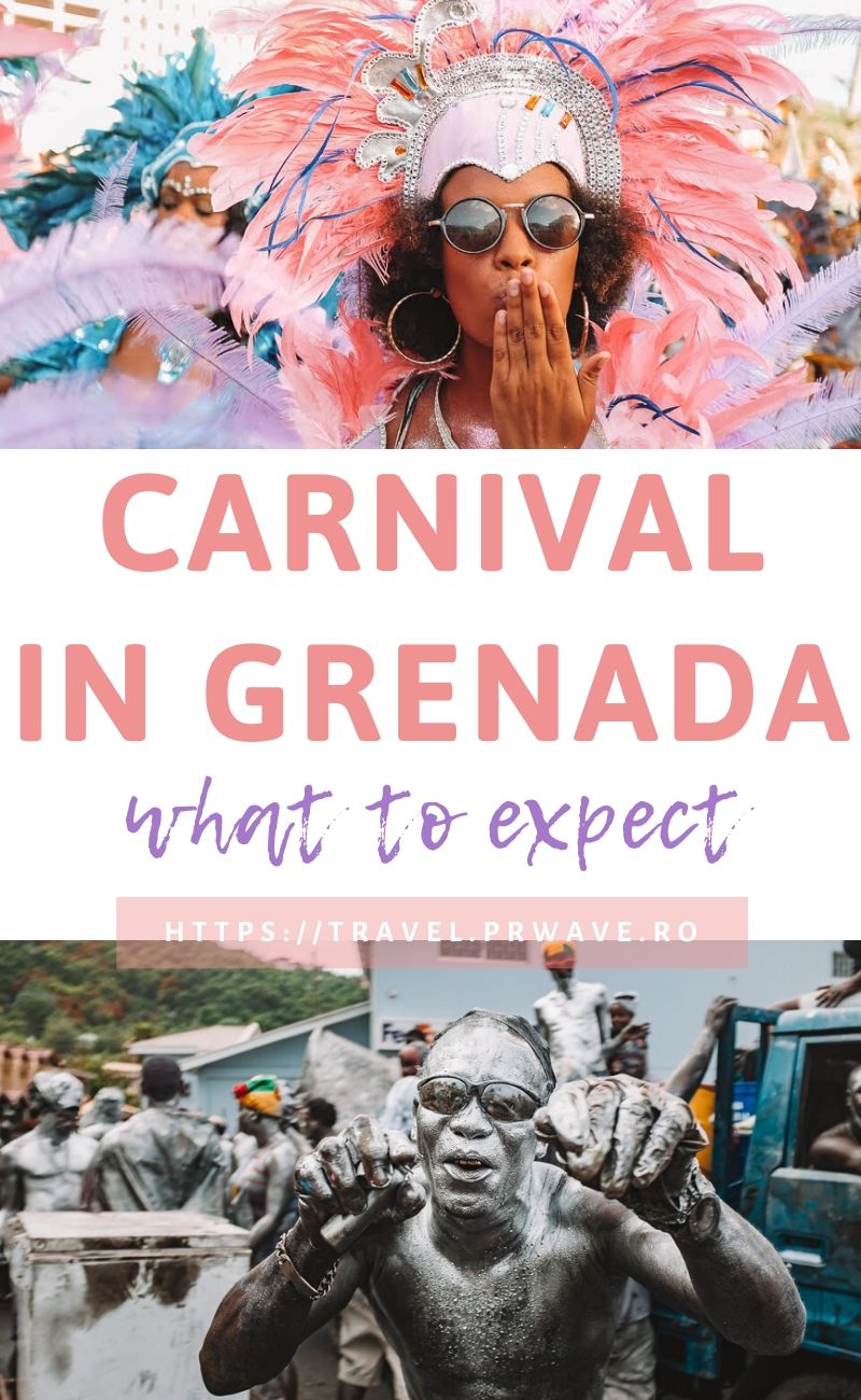 What to expect at Carnival in Grenada. This is the ultimate guide for attending the Grenada Carnival. Find out what to wear at this Carribean Carnival, the Carnival in Grenada dates, and more! All you need to know about Grenada Spicemas #grenada #grenadacarnival #grenadafestival #spicemas #jouvertmorning #prettymas #mondaynightmas #grenadatravel #traveltips #travelmomentsintime