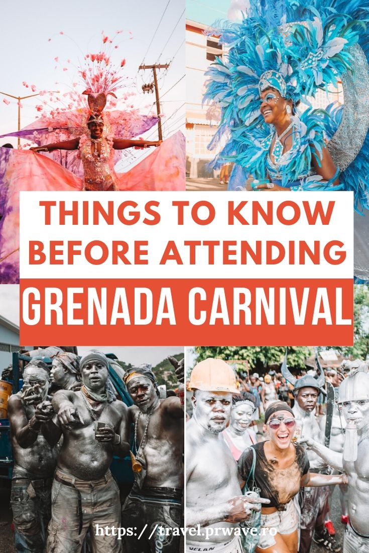 Things to know before attending Grenada Carnival! Use this Carnival in Grenada guide to plan the perfect Grenada holiday in August. These are the best insider tips for visiting Carnival in Grenada! #grenada #grenadacarnival #grenadafestival #spicemas #jouvertmorning #prettymas #mondaynightmas #grenadatravel #traveltips #travelmomentsintime