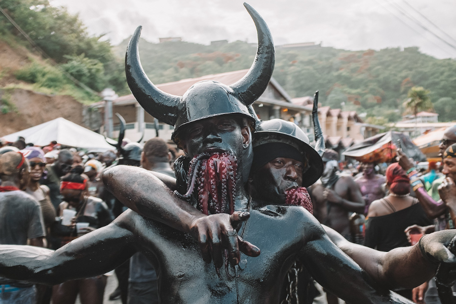 J'ouvert Morning - Carnival in Grenada. Tips for attending Grenada Spicemas
