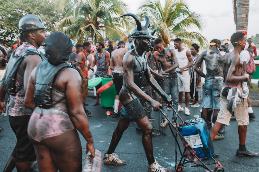 Grenada Carnival events. Discover the Grenada Carnival 2020 dates and everything you need to know about J'ouvert Morning, Pretty Mas, and Monday Night Mas at Carnival in Grenada.