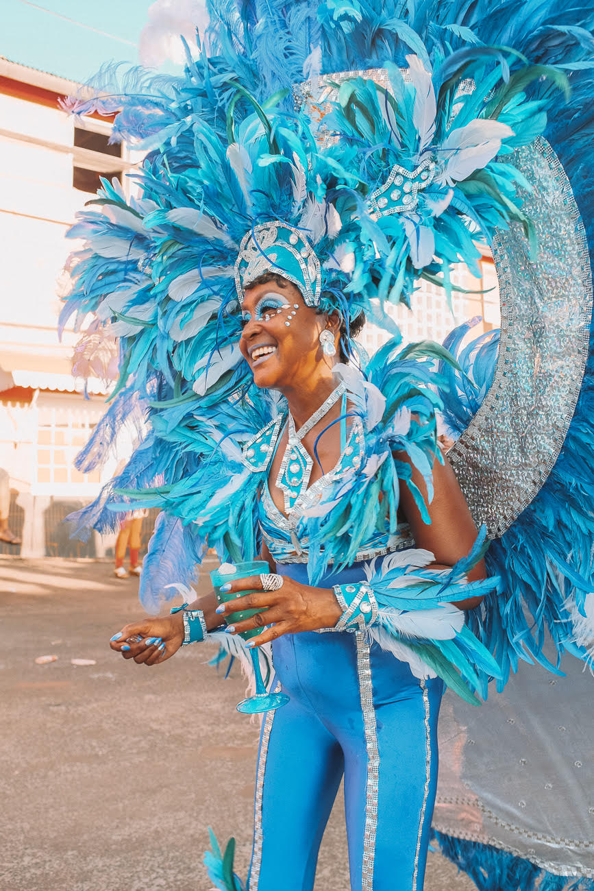 Pretty Mas, Grenada Carnival. The best tips for attending Carnival in Grenada, including Grenada Spicemas dates, what to wear, and what to expect at this Carribean Carnival.