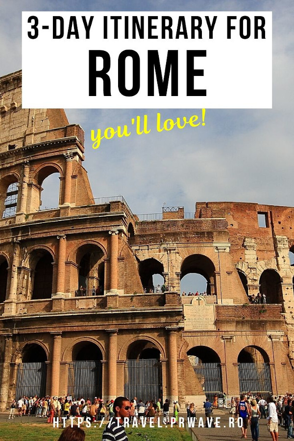 The perfect 3-day itinerary for Rome! Discover the top Rome sights, the best things to do in Rome in 3 days. Find out how to explore Rome in 3 days and make the most of your time! #rome #italy #romeitinerary #traveltips #travelguide #travelitinerary #travelmomentsintime