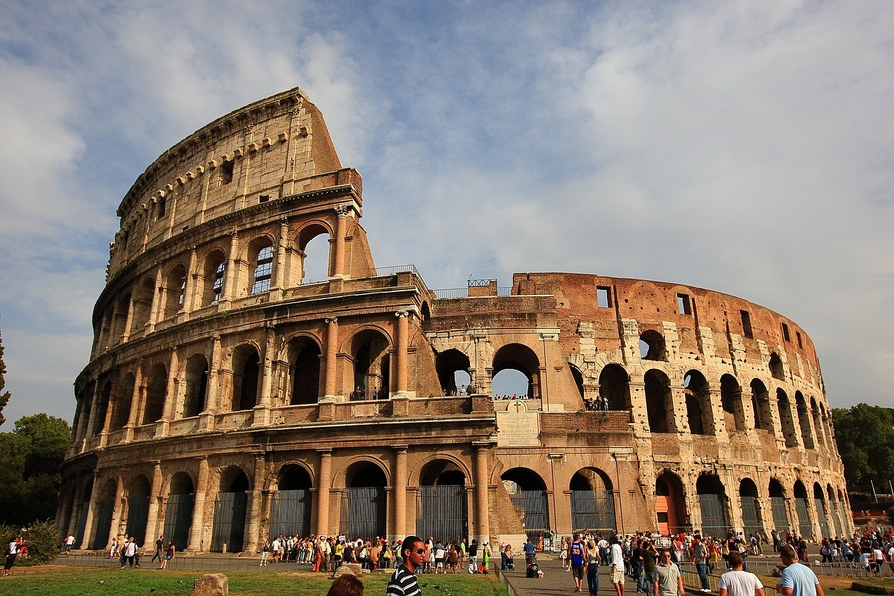The Colosseum is one of the best places to visit in Rome in 3 days. Here's your 3-day itinerary for Rome