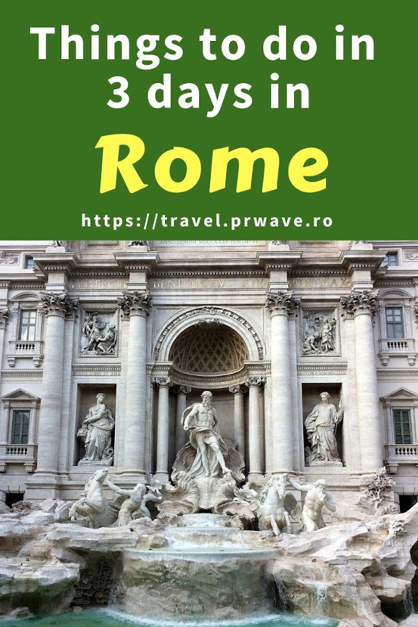 The best things to do in Rome in three days. Use this 3-day Rome itinerary when planning your trip to Rome to discover the best places to visit in Rome! Vatican attractions are included! The ultimate Rome itinerary for 3 days. #rome #italy #romeitinerary #traveltips #travelguide #travelitinerary #travelmomentsintime