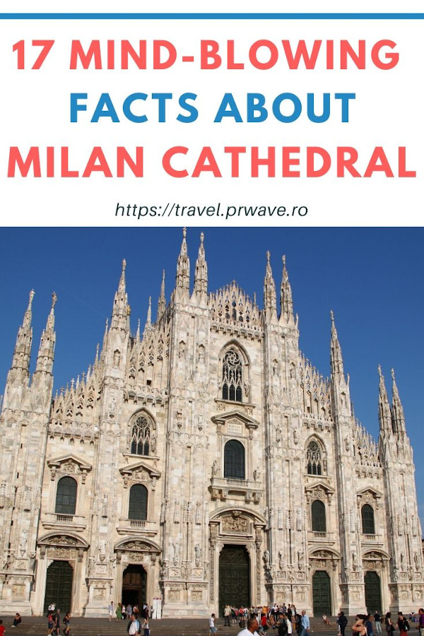 Duomo di Milano facts: 17 mind-blowing facts about Milan Cathedral you didn't know #milan #milanduomo #milancathedral #duomodimilano #milancathedralfacts #traveldestinations #italy #europe