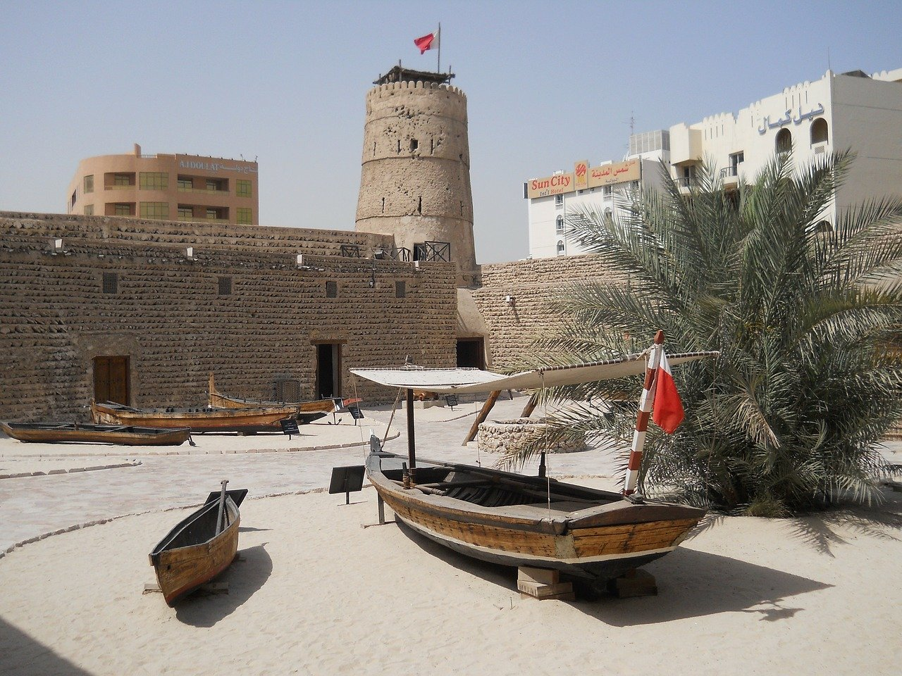 Dubai Museum is one of the best museums in Dubai you have to include on your Dubai itinerary