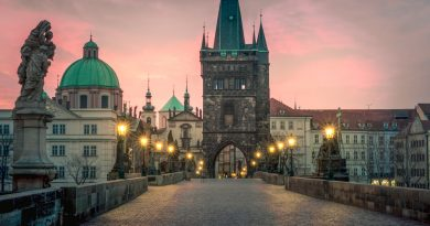 Charles Bridge is one of the top places to visit in Prague on your first trip