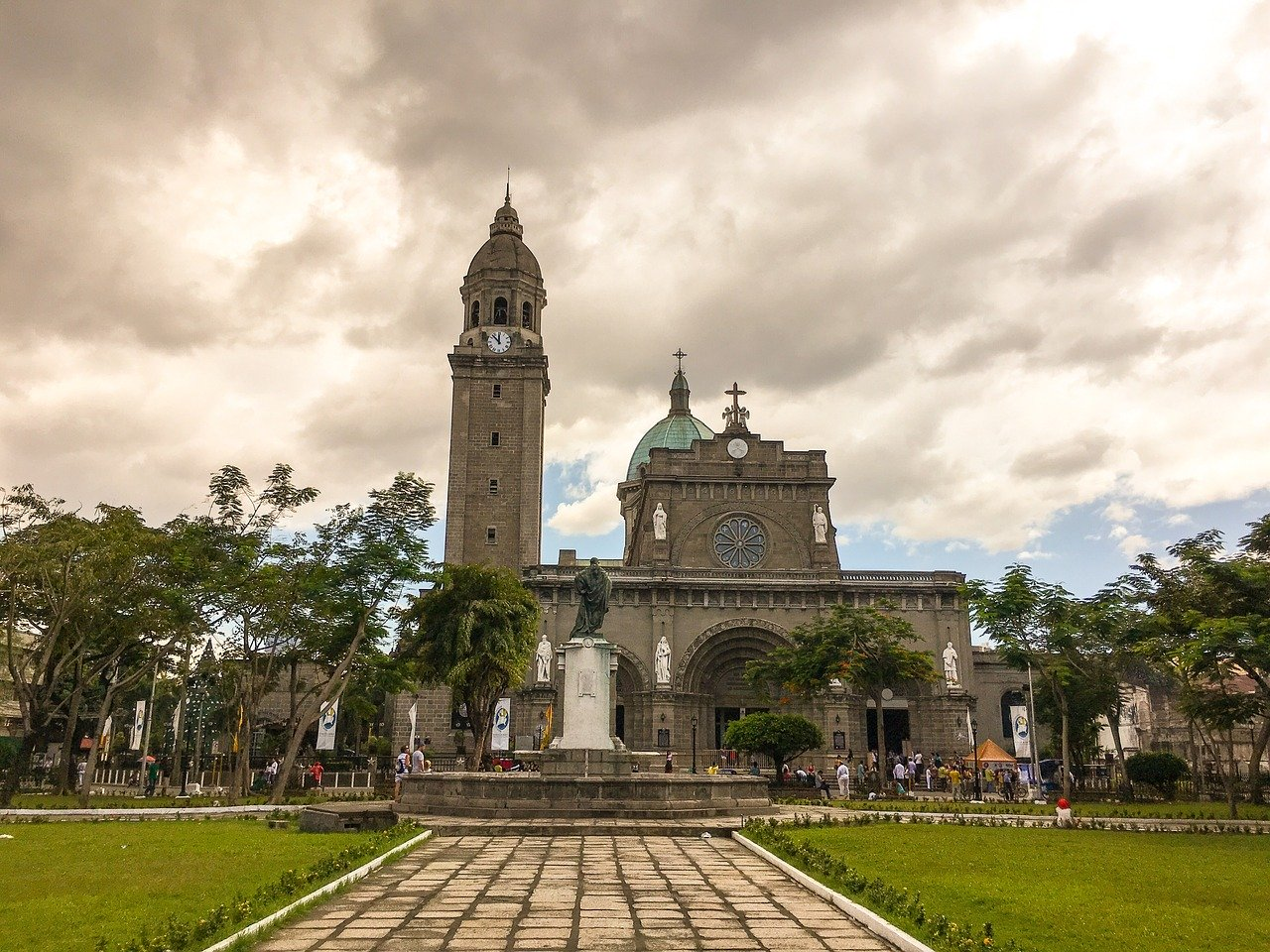 Manila Cathedral is one of the best things to see in Manila when you visit Intramuros, Manila, Philippines