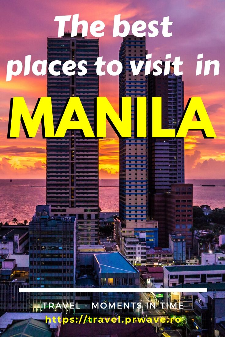Discover the best places to visit in Manila. These are the top things to see and do in Manila, Philippines on your first trip. Find out the best museums in Manila, top attractions in Manila, including Intramuros and Rizal Park, Manila dishes and more! Read the article now and save this pin for later inspiration! #manila #philippines #manilathingstodo #voyage #traveldestinations #asia #asiatravel #travelmomentsintime #firsttrip