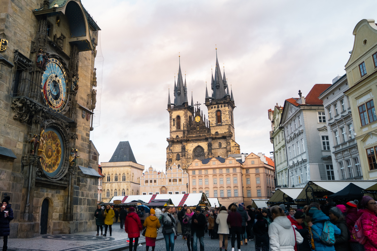 The Old Town Square is one of the best things to do in Prague, Czech Republic