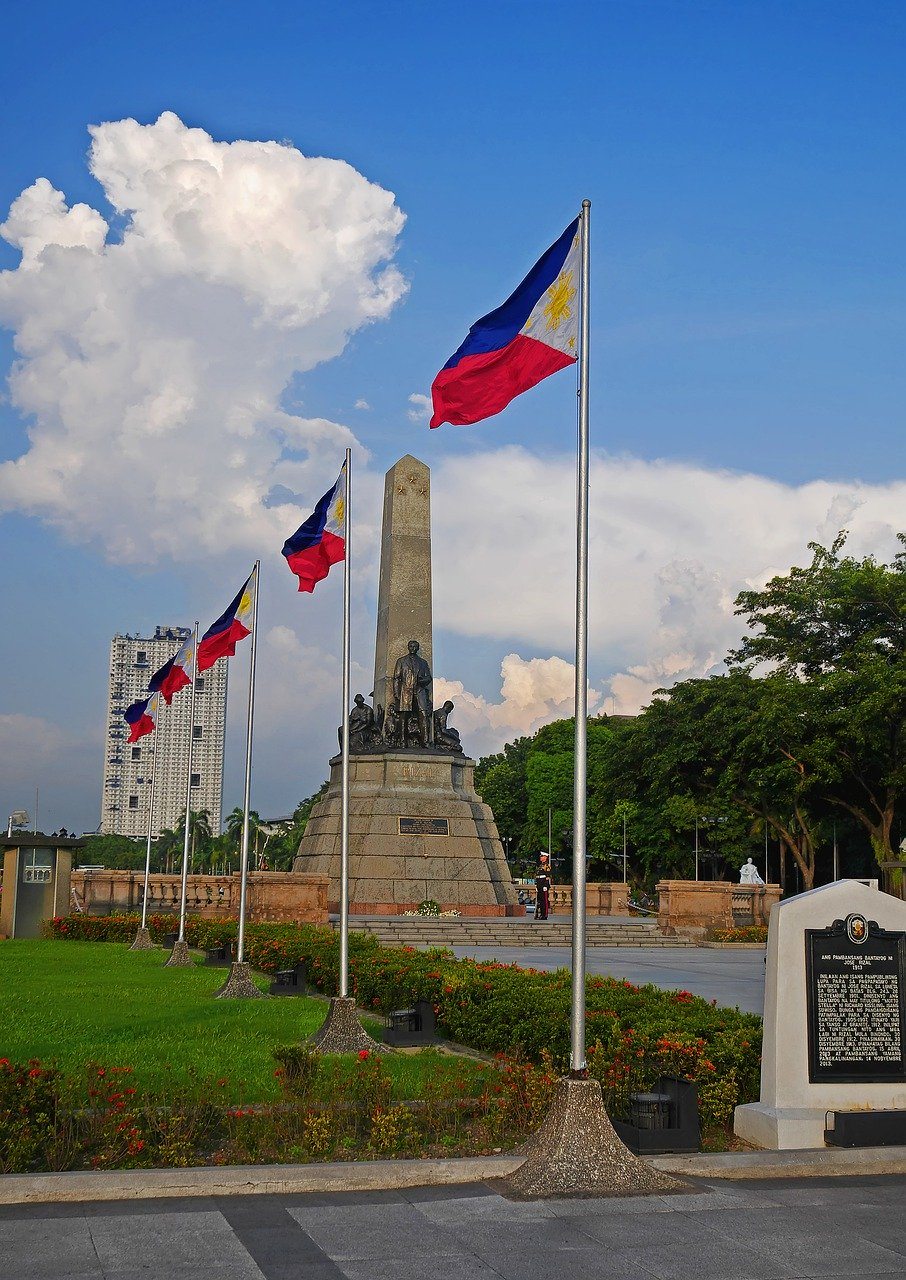 Rizal Park is one of the top attractions in Manila Philippines