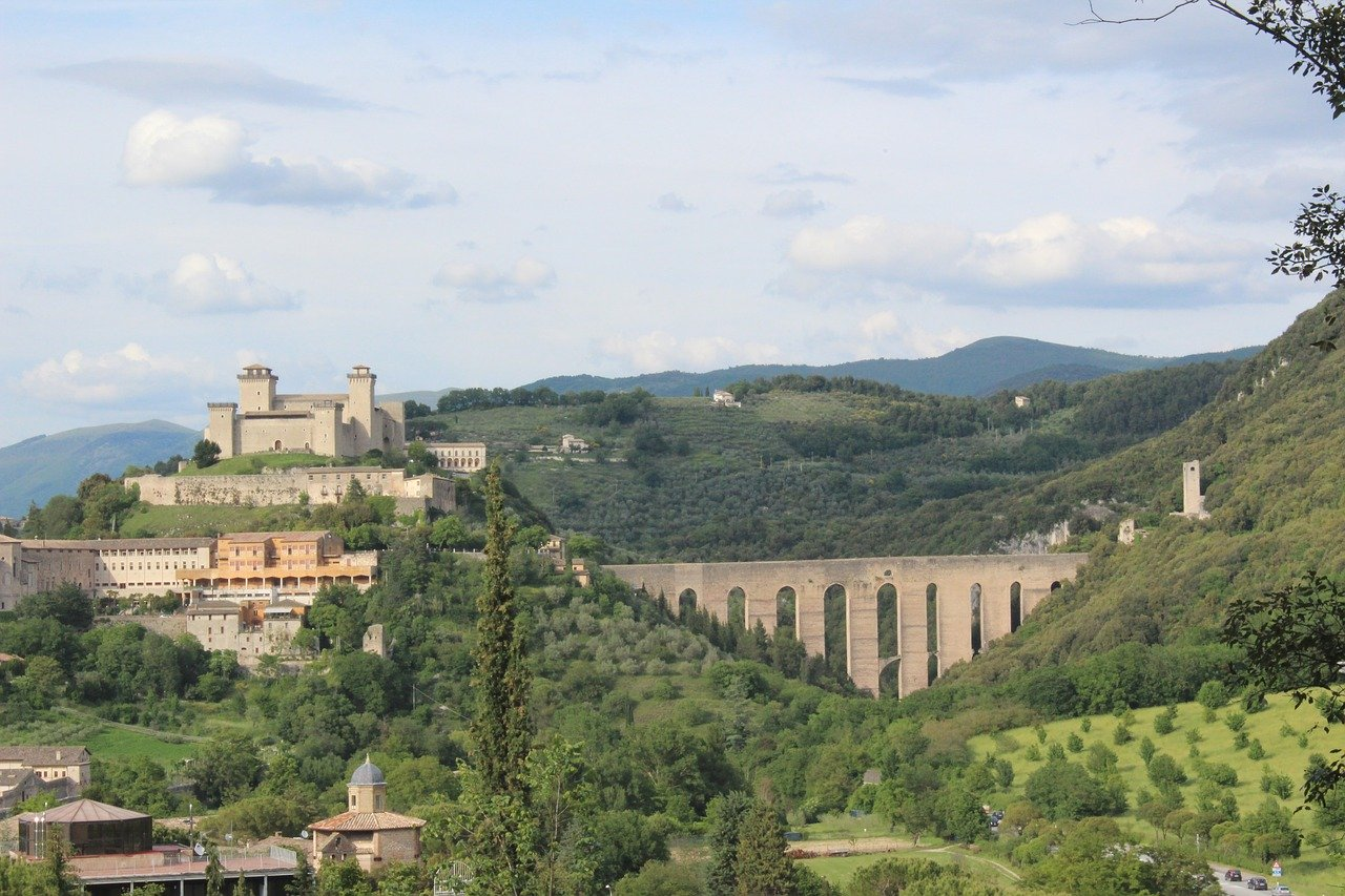 Spoleto, Umbria is one of the hidden gems in Italy