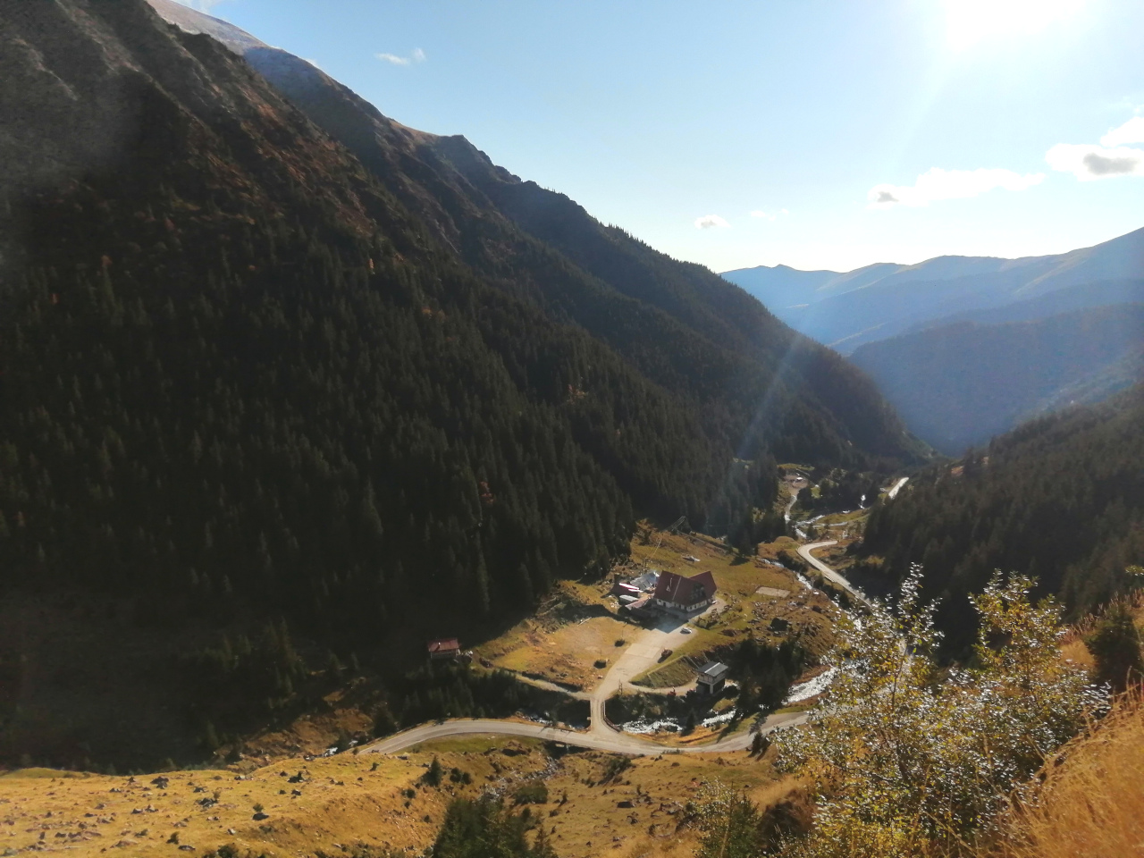 Transfagarasan view from the waterfall. This Transfagarasan travel guide presents you the best things to see and do on the Transfagarasan road.