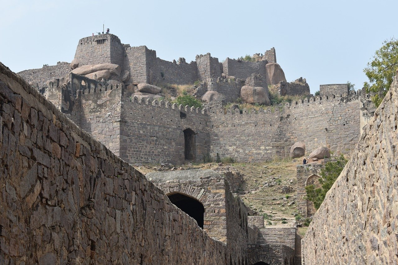Golconda Fort is one of the best places to visit in Hyderabad India