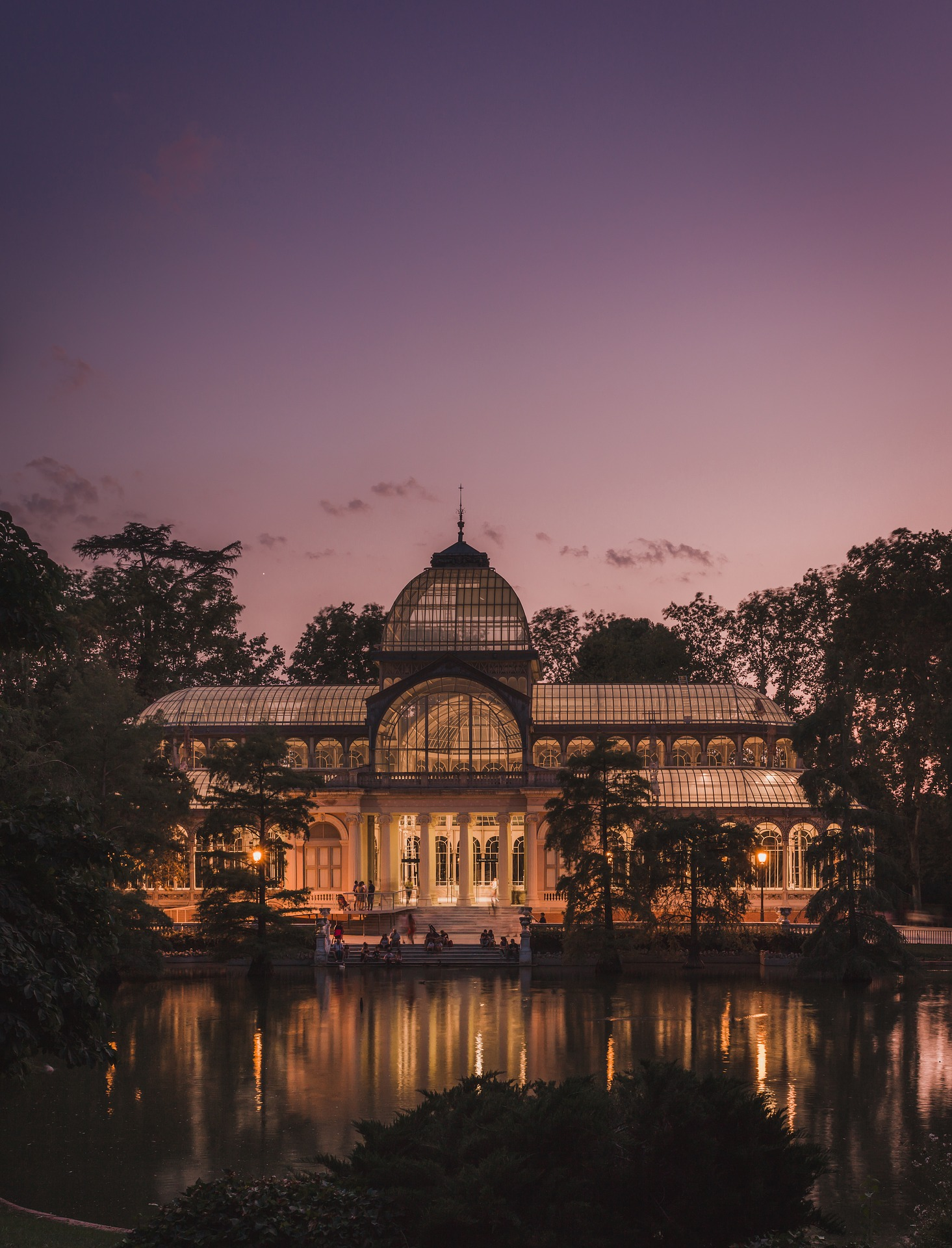 The Crystal Palace is one of the iconic landmarks of Madrid and one of the free attractions in Madrid