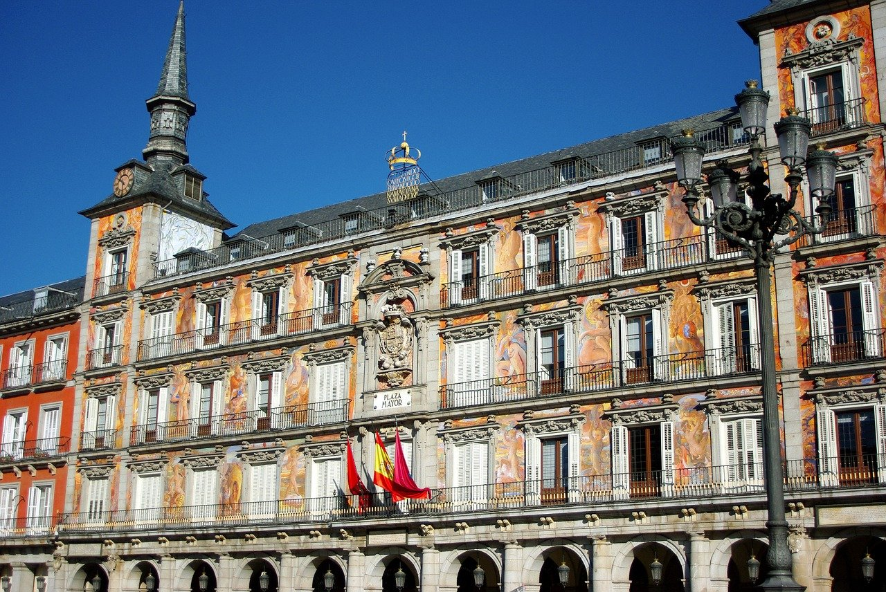 Plaza Mayor is one of the best free things to do in Madrid, Spain
