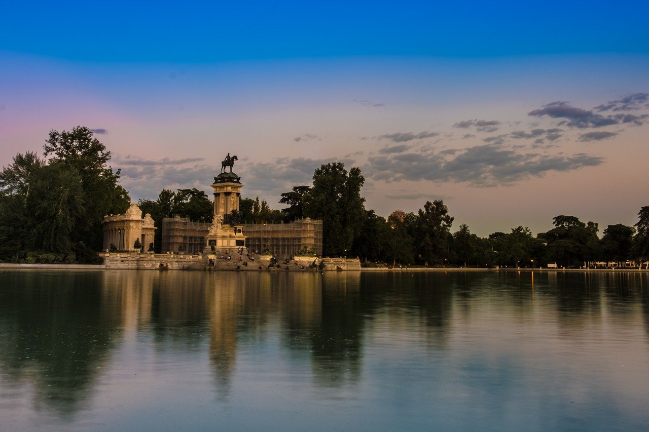 Buen Retiro Park is one of the best places to visit in Madrid, Spain