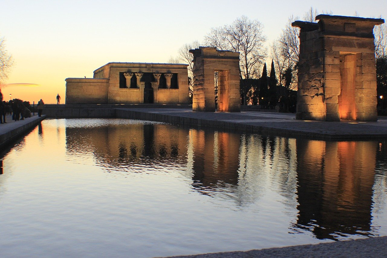 The Temple of Debod is one of the free Madrid attractions to see