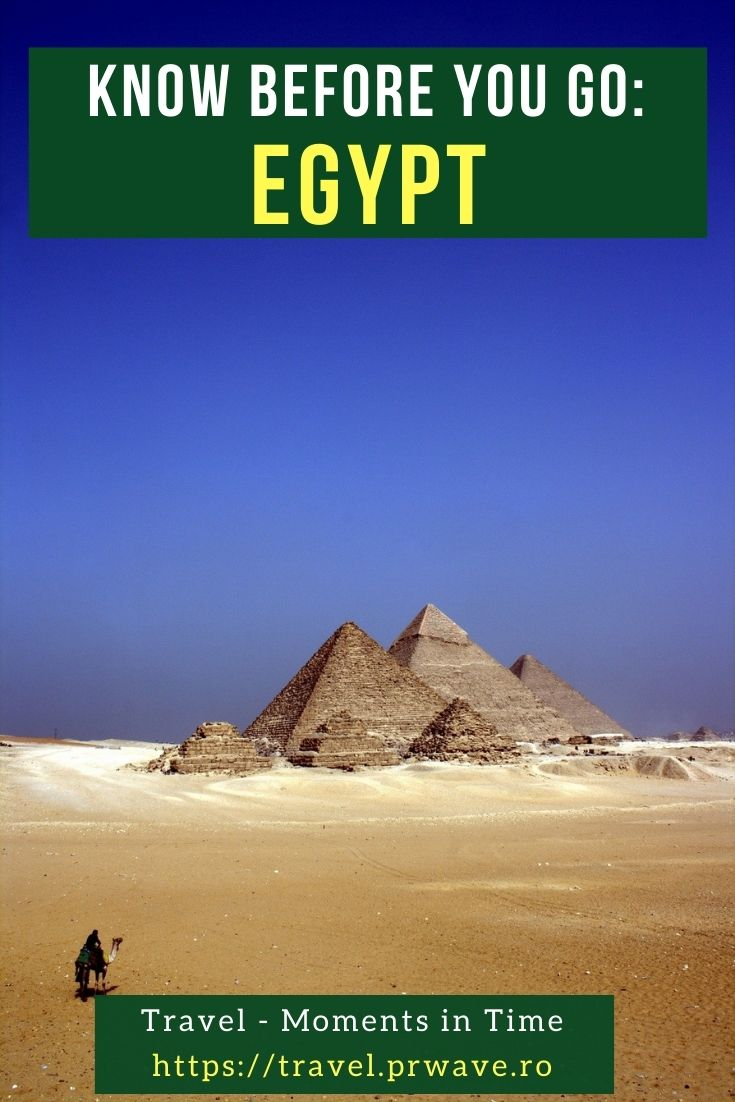 Know before you go: Egypt. Read this article and find out eveything you need to know before visiting Egypt. Use these Egypt tips and tricks to have the best Egypt trip. #egypt #egyptthingstoknow #africa #egypttips #traveltips #travelmomentsintime